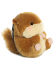Romper Chipmunk Rolly Pets Stuffed Animal by Aurora World (Rotated Rolled View)