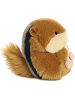 Romper Chipmunk Rolly Pets Stuffed Animal by Aurora World (Right Rolled View)