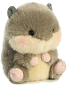 Nanigans Squirrel Rolly Pets Stuffed Animal by Aurora World (Rotated Slightly Right)