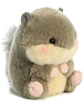Nanigans Squirrel Rolly Pets Stuffed Animal by Aurora World (Rotated Right)
