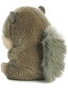 Nanigans Squirrel Rolly Pets Stuffed Animal by Aurora World (Back View)
