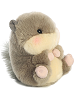 Nanigans Squirrel Rolly Pets Stuffed Animal by Aurora World (Rotated Rolled View)