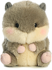 Nanigans Squirrel Rolly Pets Stuffed Animal by Aurora World (Front View)