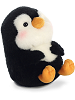 Peewee Penguin Rolly Pets Stuffed Animal by Aurora World (Rolled Back View)