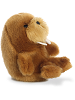 Waldo Walrus Rolly Pets Stuffed Animal by Aurora World (Rolled Back View)