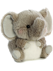 Trumpeter Elephant Rolly Pets Stuffed Animal by Aurora World (Rotated)