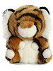 Terrific Tiger Rolly Pets Stuffed Animal by Aurora World (Front)