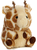 Giminy Giraffe Rolly Pets Stuffed Animal by Aurora World (Rotated)