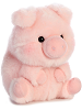 Prankster Pig Rolly Pets Stuffed Animal by Aurora World (Rotated)