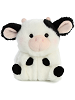 Daisy Cow Rolly Pets Stuffed Animal by Aurora World (Front)