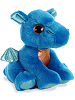 Rocket Blue Dragon Sparkle Tales Stuffed Animal by Aurora