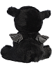 Rogue Black Dragon Sparkle Tales Stuffed Animal (Back)
