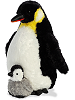 Emperor Penguin & Baby Stuffed Animals by Aurora (Rotated)