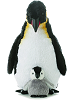 Emperor Penguin & Baby Stuffed Animals by Aurora World