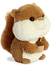 Squirrel Bubbles Stuffed Animal by Aurora World (Rotated Right)