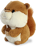 Squirrel Bubbles Stuffed Animal by Aurora World (Rotated Left)