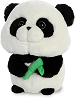 Panda Bubbles Stuffed Animal by Aurora World (Rotated Left)