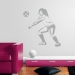 Volleyball Bump Sudden Shadows Giant Wall Decal Room View