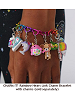 CHARM IT! Rainbow Heart Link Charm Bracelet with Charms (Sold Separately)