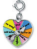 CHARM IT! Heart Spinner Charm (Alternate View)