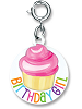 CHARM IT! Birthday Girl Cupcake (Round) Charm