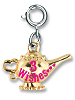 CHARM IT! Magic Lamp Charm by High IntenCity (Back)