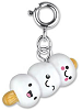 CHARM IT! Marshmallow Friends Charm by High IntenCity (Rotated)