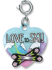 CHARM IT! Love to Ski! Charm by High IntenCity