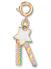 CHARM IT! Magic Wand (Gold-Tone) Charm by High IntenCity