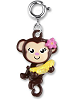 CHARM IT! Monkey Swivel Charm (Swiveled)