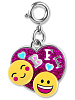 CHARM IT! BFF Emoji Heart Charm by High IntenCity