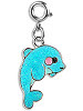 CHARM IT! Glitter Dolphin Charm by High IntenCity
