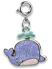 CHARM IT! Glitter Whale Charm by High IntenCity (Back)