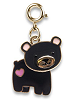 CHARM IT! Bear Swivel (Gold-Tone) Charm by High IntenCity