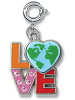 CHARM IT! Love Earth Charm
