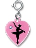 CHARM IT! Ballerina Heart Charm