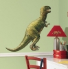 T-Rex Dinosaur RoomMates Giant Wall Decal Room View