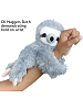 Huggers Sloth Stuffed Animal demonstrating wrist hold
