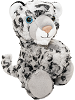 Snow Leopard Huggers Stuffed Animal by Wild Republic (Arms Closed)
