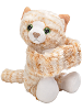 Tabby Cat Huggers Stuffed Animal by Wild Republic (Arms Closed)