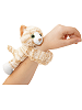 Tabby Cat Huggers Stuffed Animal by Wild Republic (on Wrist)