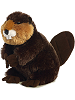 Bucky Beaver Flopsies Stuffed Animal by Aurora World