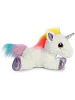 Rainbow Unicorn Sparkle Tales Stuffed Animal by Aurora World (Side)