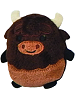 Bill Buffalo Uncommon Woodland Mystery Cutie Beans Plush