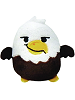 Abe Eagle Rare Woodland Mystery Cutie Beans Plush