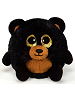 Banjo Black Bear Lubby Cubbies Stuffed Animal by Fiesta