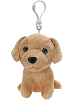 Golden Retriever Plush Backpack Clip Stuffed Animal by Fiesta