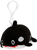 Orca Lil' Huggy Plush Backpack Clip Stuffed Animal by Fiesta