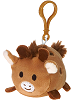Giraffe Lil' Huggy Plush Backpack Clip Stuffed Animal by Fiesta