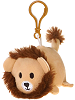 Lion Lil' Huggy Plush Backpack Clip Stuffed Animal by Fiesta